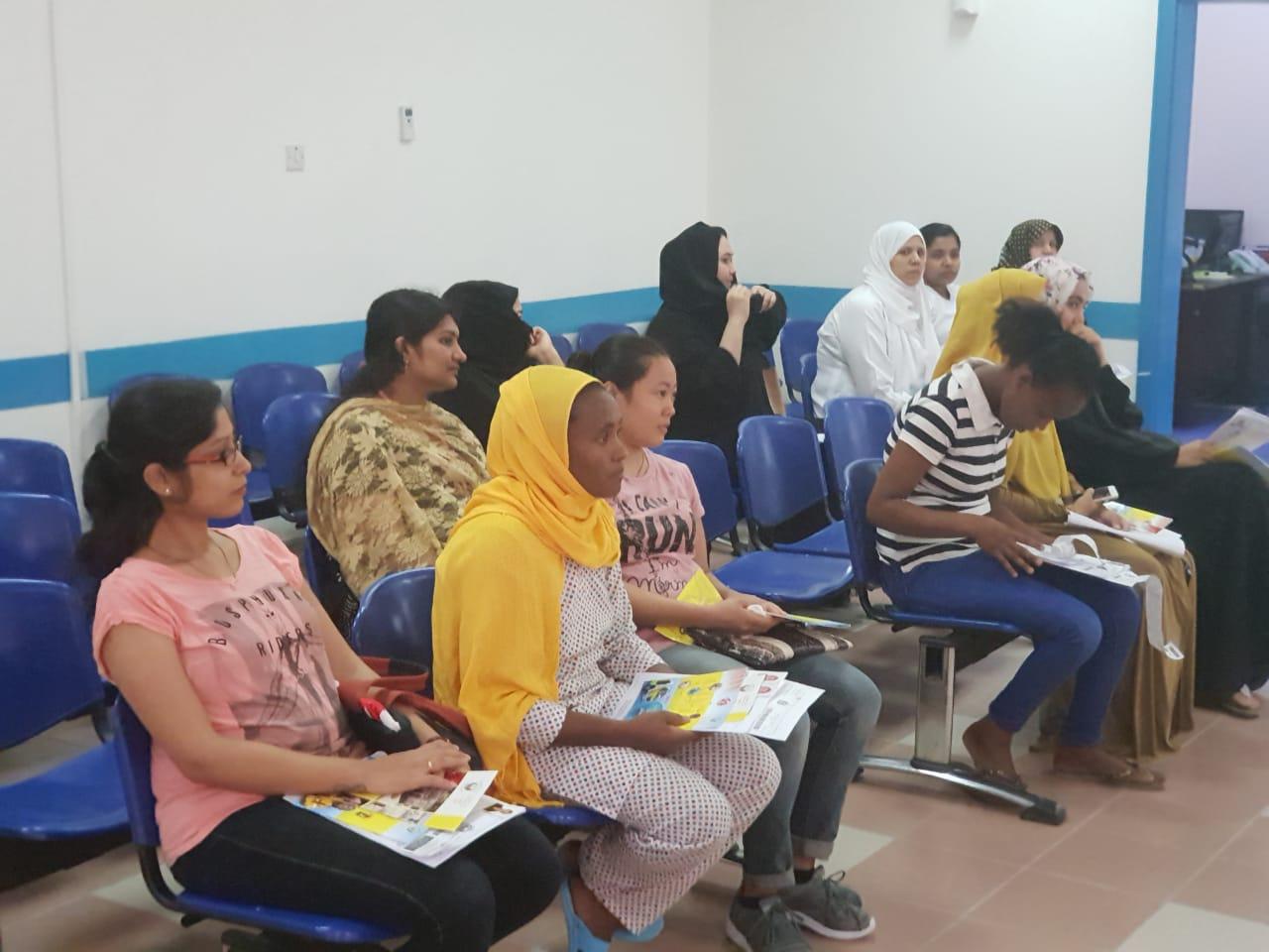 تدريب الفئات المساعدة على إجراءات الوقاية والسلامة