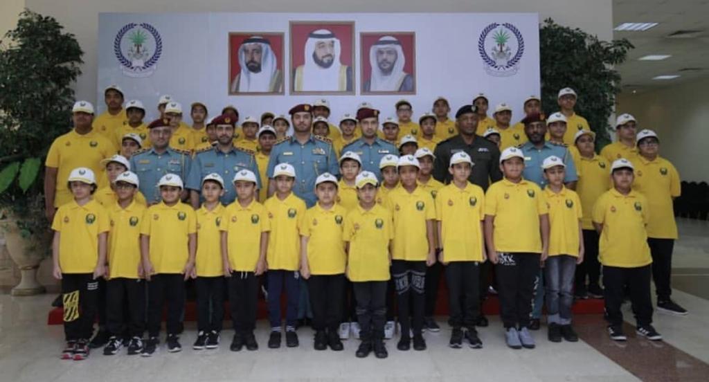Sharjah Civil Defense celebrates the graduation of Friends of Civil Defense program